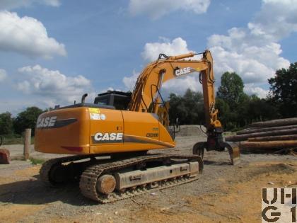 Case CX 210B LC, Bagger GG 22 t Raupen