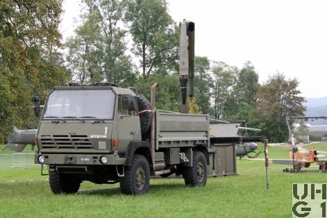 Steyr 1291.320 P43/M Lastw Seilw Ladekr 3,8 t gl 4x4 (zu ADS 95)