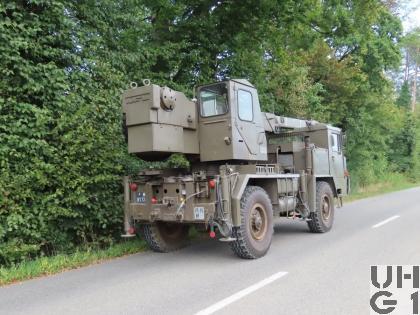 Faun LK 1508/36, Kranw 10 t sch gl 4x4