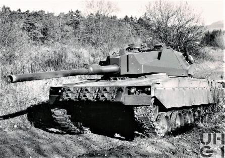 Panzer 68 ET, Bild K+W Thun, Sammlung Urs Heller