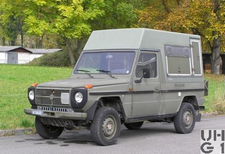 Steyr Puch 230 GE, Fltw ADS 95 HT l 4x4 gl, Bild Josy Zbinden