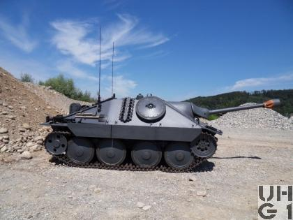Panzerjäger G13 mit Dieselmotor, Pzj G13 Dieselmotor