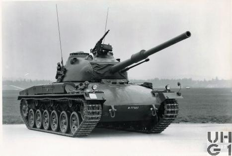 Panzer 61 K+W, Pz 61 K+W, Foto K+W Thun, Sammlung Ueli Bühler