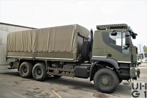 IVECO Trakker AT380T45W, Lastw Verd für Seilw 9 t 6x6 gl
