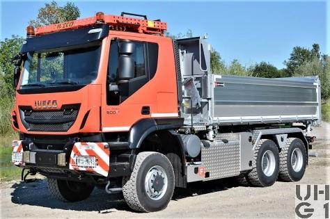 IVECO Trakker AT380T50W, Lastw Verw Ki Brue 10,2 t Gl 6x6