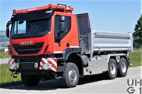 IVECO Trakker AT380T50W, Lastw Verw Ki Mu 9,8 t Gl 6x6, Foto Armasuisse Kompetenzbereich Landsysteme