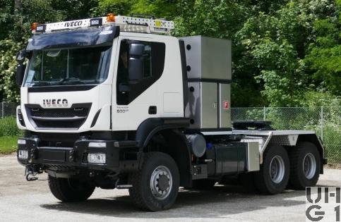IVECO Trakker AT380T50WT/P, Sattelschl sch Int 6x6 gl Foto Armasuisse Kompetenzbereich Landsysteme