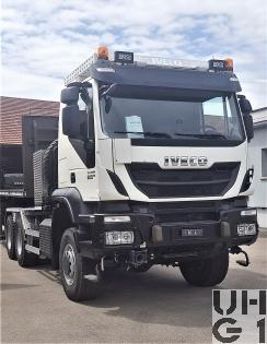 IVECO Trakker AT380T50WT/P, Sattelschl sch Int 6x6 gl