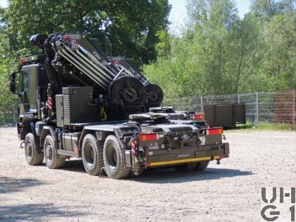 Iveco Trakker AT410T50W/P, Sattelschlepper schwer 16, 8x8 gl mit Ladekran