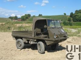 Steyr Puch Typ 700 AP Haflinger 0,4 t 4x4, 1. Serie