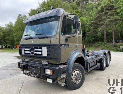 Mercedes Benz 2638 A, Lastw für Wa Int Seilw 14 t gl, Bild Armasuisse