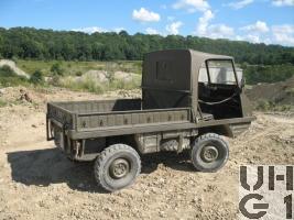 Steyr Puch Typ 700 AP Haflinger 0,4 t 4x4, 1. Serie