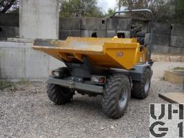 RACO Dumper Modell 2500 HRK, Dumper 4,5 t 4x4, Dumper Int 4,5 t 4x4