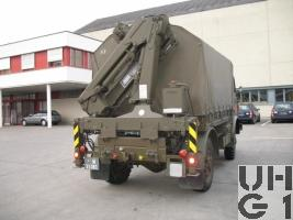 Steyr A 680 g Repw A2 / Spz 93 sch gl 4x4 mit Ladekran