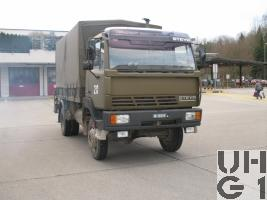 Steyr 12S18, Repw Brü 95 sch gl 4x4 mit Ladekran