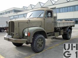Saurer 2 DM Lastw Kipper 4,75 t gl 4x4