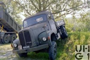 Saurer 2 DM, Lastw Kipper 4,75 t gl 4x4