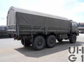 Steyr 1491.320 P40/M, Lastw 9.6 t gl 6x6 mit Seilwinde