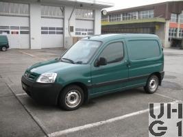 Peugeot Partner 1,9 D Lieferw Ka Verw 0,6 t 4x2 Peugeot Partner 1,9 D