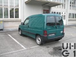 Peugeot Partner 1,9 D 600, Lieferw Ka Verw 0,6 t 2PL 4x2