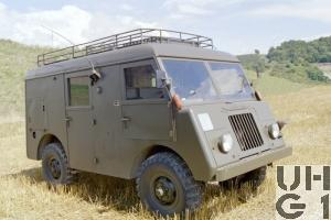 Mowag GW 3500, 4x4 Funkwagen SE-407 / SE-411