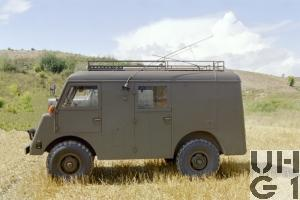 Mowag GW 3500, 4x4 Funkwagen SE-407 SE-411