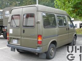 Ford Transit 120 CL 4x2, Pw Kombi 9 Pl