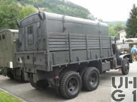 GMC CCKW 353 B1, Kdo-Fk-Sta SM 46 sch gl 6x6