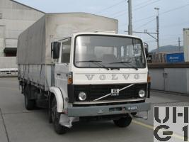 Volvo F 614 Lastw Verd Hebu 5t 4x2