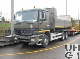 Mercedes Benz Actros 3340A 6X