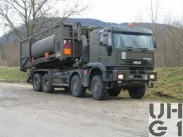 IVECO EuroTrakker MP 340 E 48W Lastw WABRA/HA Con Seilw 14 t 8x8 GL